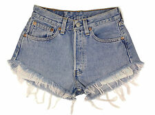 Vintage Womens Levis 501 Denim High Waisted Jean Shorts Size 4 6 8 10 12 14 16