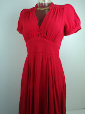 """French Connection """"Fast Apollo"""" Red Dress Sizes 8, 10, 16. Label Price £152 BNWT"""