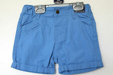 BNWT Baby Boys Adjustable Waist Shorts Age 12-18, 18-24 Months *FREE P&P*