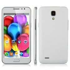 """5"""" Android 4.2 Smartphone Cell phone GSM+3G GPS WIFI  AT&T Straight talk NEW WH"""