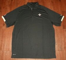 New Orleans Saints Nike DRI-FIT Performance Polo New