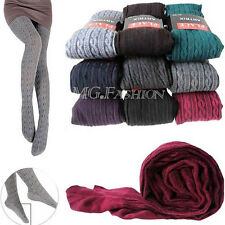 NEW Womens Thick Tights Knit Winter Pantyhose Pant Warm Cotton Stockings Socks