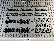 DIAMONDBACK Stickers Decals Bicycles Bikes Cycles Frames Forks Mountain BMX 55L