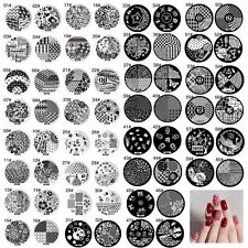 Plate Image Nail Art Steel Stamp Manicure Template Stamping Plates DIY Tool Hot