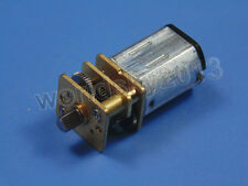 New N20 DC3V 6V 12V 15-4000RPM Speed Reduction Gear DC Motor with Metal Gearbox