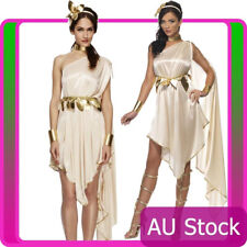 Ladies Fever Roman Greek Goddess Toga Cleopatra Costume Fancy Dress Smiffys