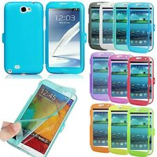 New Flip Tpu Silicone Soft Case Cover For Samsung Galaxy S3 S4 Note 2 3