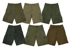 Mens Casual Army Cargo Combat Overall Shorts Sports Pants Outdoors