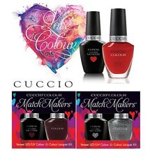 Cuccio Veneer LED / UV & Colour Lacquer - Matchmakers - 13ml each (6000-6050)
