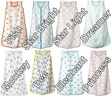 NEW sleeping bag Aden and Anais 100% Cotton Muslin Baby FREE SHIPPING ALL WORLD