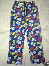 HOMER SIMPSONS DONUTS COTTON LOUNGE PANT MENS LADIES PYJAMA TROUSER PJS PRIMARK