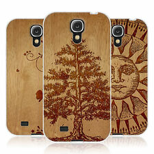 HEAD CASE WOOD ART GEL BACK CASE COVER FOR SAMSUNG GALAXY S4 I9500