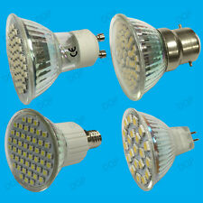8x 5.6W LED Spot Light Bulbs Stock Daylight Warm White Replaces Halogen Lamps