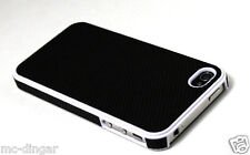 Hybrid Rugged Rubber Matte Hard Case CoverFor iPhone 4s / 4 + Screen Protective