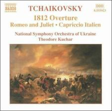 TCHAIKOVSKY: 1812 OVERTURE; ROMEO AND JULIET; CAPRICCIO ITALIEN NEW CD