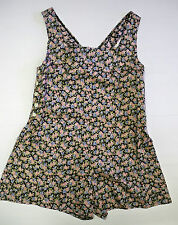 Ladies / Girls Floral Playsuit  sizes 10 / 12  - new  Ideal for the summer!