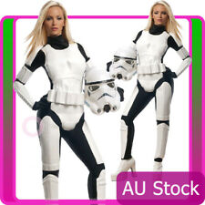Licensed Ladies Star Wars Storm Trooper Costume Womans Stormtrooper Fancy Dress