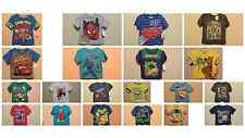 *NWT - LICENSED CHARACTERS - TODDLER BOY'S SS GRAPHIC T-SHIRT - 2T -  5T