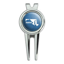 Maryland MD Home State Golf Divot Repair Tool and Ball Marker