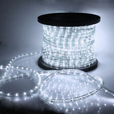 Cool White 2 Wire LED Rope Light 110V Home Party Christmas Decorative In/Outdoor