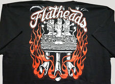 Flatheads, Ford Flathead Engine, Rat Rod, Rockabilly, Hot Rod T-shirt
