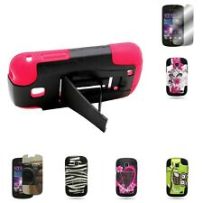 For Samsung ILLUSION I110 GALAXY PROCLAIM S720C Hard Silicone Stand Cover Case