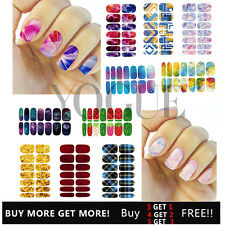 3D Water Transfer Nail Art Wraps Stickers Decals Polish Stickers Tips Decoration