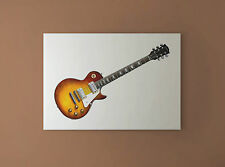 Jimmy Page's 1959 Gibson Les Paul #2 CANVAS PRINT