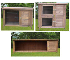 Cheeko Smart Rabbit Hutch for Small Animals Wooden Hutches 2 Tiered Cage