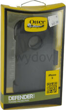 OtterBox Defender Series Case iPhone 5 Black New with Holster Screen Protector