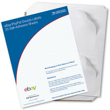 New USPS Click-n-ship eBay/paypal Double Labels (50 Pack)