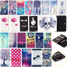 HOT Popular For Lenovo CellPhone Universal Leather Wallet Card Flip Cover Case