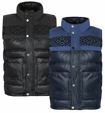 Soul Star Mens Padded Gilet Bodywarmer Jacket Sleeveless Vest Coat
