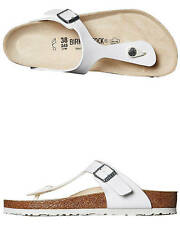 New Birkenstock Women's Womens Gizeh Sandal Womens Shoes White