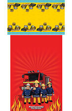 Fireman Sam & My 1st JCB - Plastic Table Covers Party Birthday Tablecover Kids