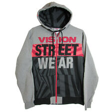 Vision Street Wear Mens Vortech Zip Hoodie Fashion Hoodie