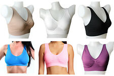 Soutien-gorge comfort invisible push up sport AHH BRA & Genie - Air microfibre