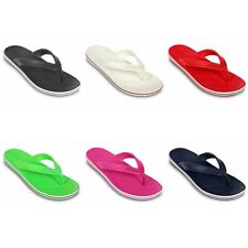 Crocs Crocband LoPro Flip - Black Blue Red Green White Pink - New and authentic