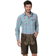 Original German - Bavarian leather shorts Beppo h-beam rustic - Lederhosen