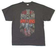 "GUNS N' ROSES ""CELTIC ANGEL"" BLACK T-SHIRT NEW OFFICIAL ADULT"