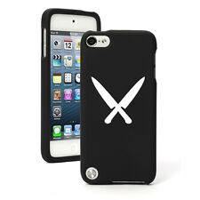 For Apple iPod Touch 4th 5th 6th Rubber Hard Case Cover Chef Knives