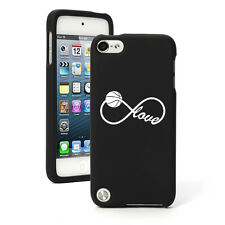 For Apple iPod Touch 4th 5th 6th Rubber Hard Case Cover Infinity Love Basketball