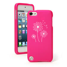 For Apple iPod Touch 4th 5th 6th Rubber Hard Case Cover Dandelions