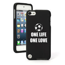 For Apple iPod Touch 4th 5th 6th Rubber Hard Case Cover One Life Soccer
