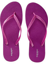 NWT Ladies FLIP FLOPS Old Navy Thong Sandals MAGENTA Shoes SIZE 7,8,9,10