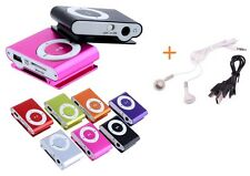 Up to 8GB Support Micro SD TF Mini Clip Metal MP3 Music Player + Free Gift