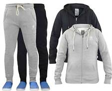 New Mens Crosshatch Designer Fleece Jacket Hoody or Tracky Bottom Sweatshirt Top