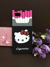 Cute Cigarette Hello kitty  Silicone Soft Case Cover For iphone6 5.5/4.7/5G 5S
