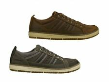 Skechers IRVIN HAMAL Mens Leather Casual Comfort Lace Up Sneakers Trainers