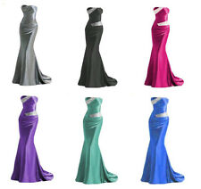 New Cheap Mermaid Prom Party Formal Bridesmaid Evening Dress SZ 6+8+10+12+14+16